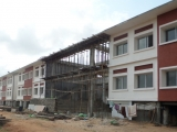 Final touches to primary school at Paradise Village