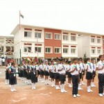 Children parade at Paradise to celebrate Independence Day