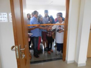 Opening of the science lab