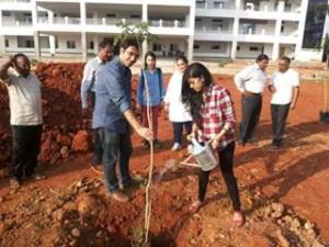 Tree-planting at HEAL Paradise Village