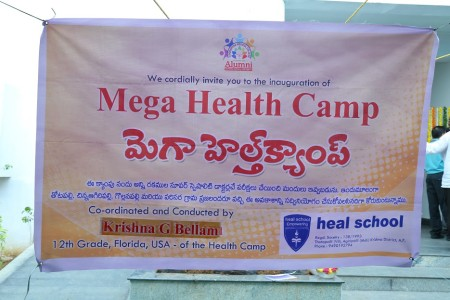 HEAL Paradise Village Mega Health Camp