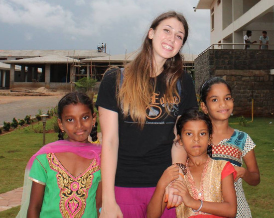 HEAL Paradise Village volunteers. Sponsor a Child in India.